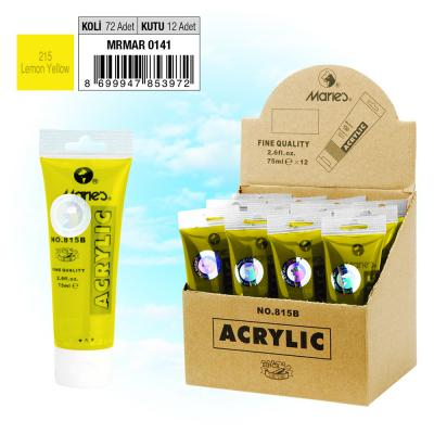 MARIE'S AKRİLİK BOYA - 75 ML - 215 Lemon Yellow