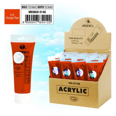 MARIE'S AKRİLİK BOYA - 75 ML - 313 Orange Red