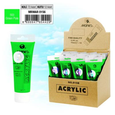 MARIE'S AKRİLİK BOYA - 75 ML - 503 Green Pale